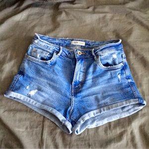 Trafaluc ZARA Jean shorts